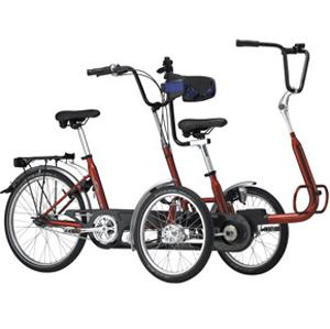 Copilot 3 - Tricycle à deux roues avant...