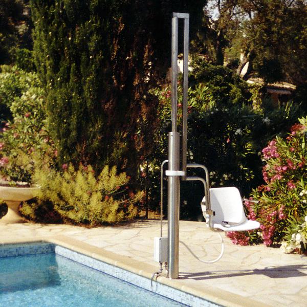 Aquasiège pour piscines enterrées - Élévateur pour pisci...
