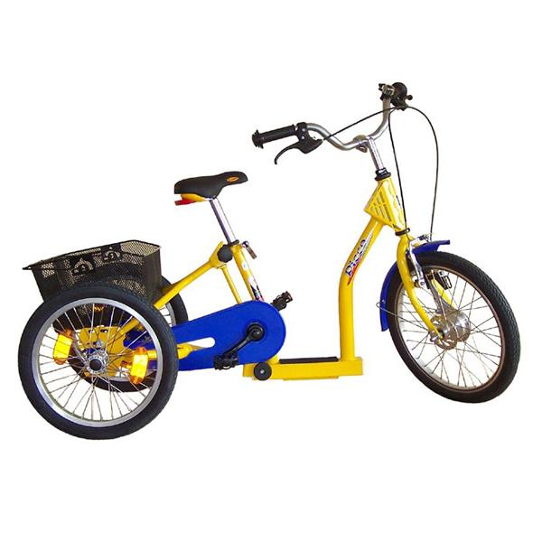 Picco - Tricycle à deux roues arrière propulse par les p...
