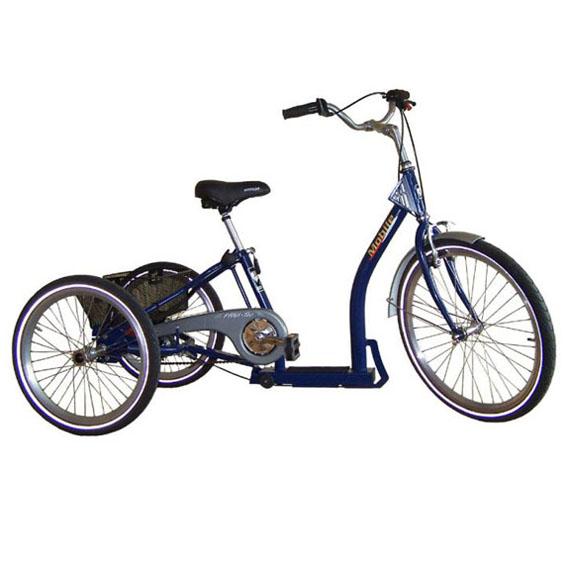 Mobile - Tricycle à deux roues arrière propulse par les ...
