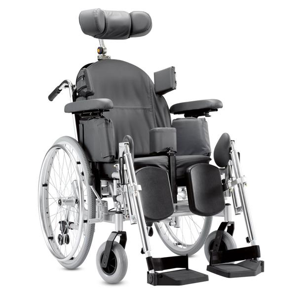 Triton - Fauteuil roulant manuel confort à châssis plian...