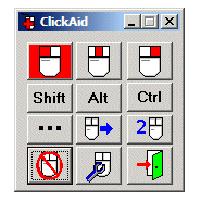 Click aid - Logiciel de clavier visuel...