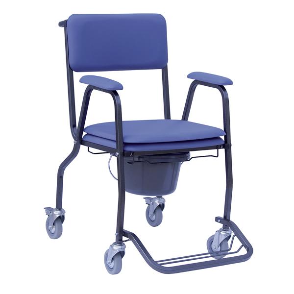 Club sur roulettes - Chaise percée à roulettes...