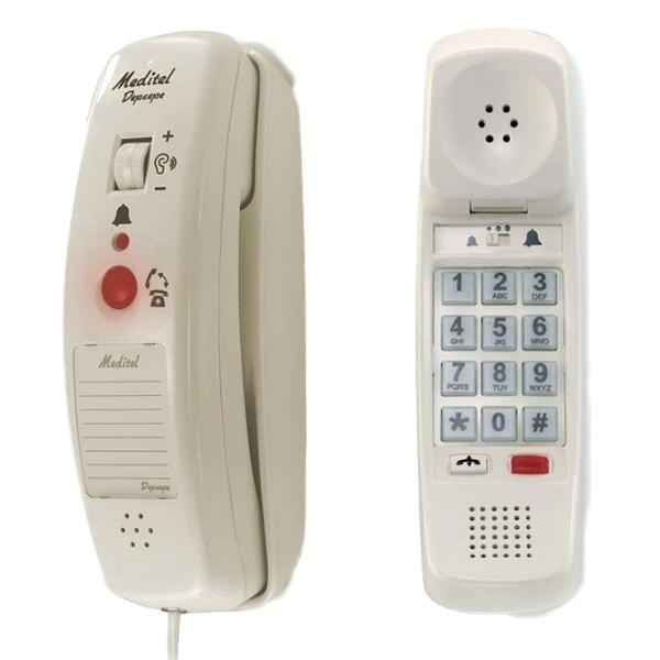 Meditel - Téléphone fixe adapté...
