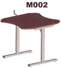 M002 - Table de travail à hauteur réglable...