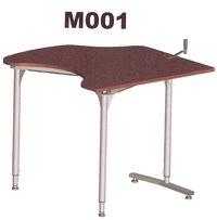 M001 - Table de travail à hauteur réglable...