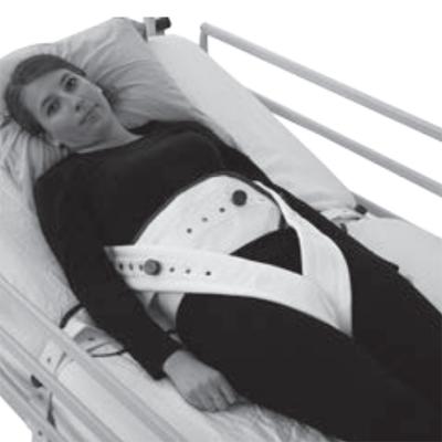 Attache taille au lit avec maintien pelvien BCF 4101 - A...