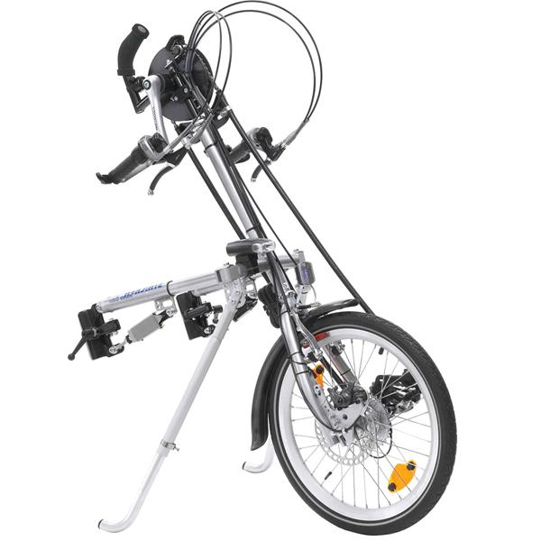 Ultra - Troisième roue pour fauteuil roulant...