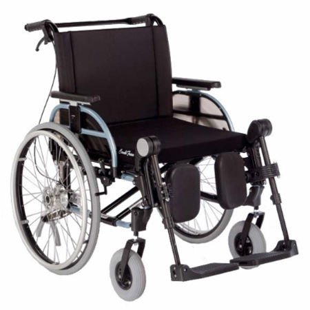 Innov XXL - Fauteuil roulant manuel standard a châssis p...