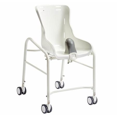 Swan  - Fauteuil de douche à siège percé à petite roues...