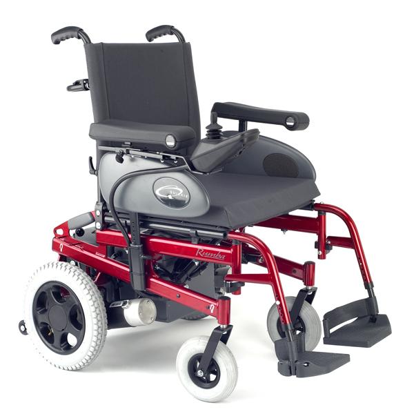 Quickie Rumba - Fauteuil roulant électrique à châssis fi...