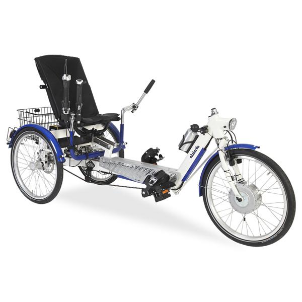 Relax - Tricycle à deux roues arrière propulse par les p...