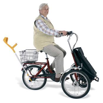 Shopi - Tricycle à deux roues avant...