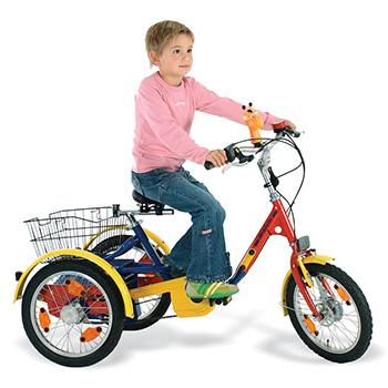 Dominique - Tricycle à deux roues arrière propulse par l...