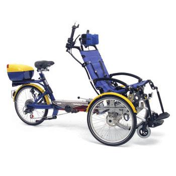 Draisin Plus - Cycle pour pousser ou tirer un fauteuil r...
