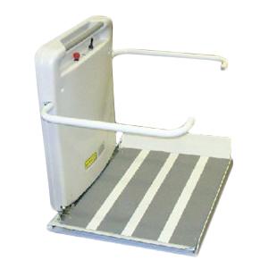 Pour escalier courbé - Plateforme élévatrice inclinée...