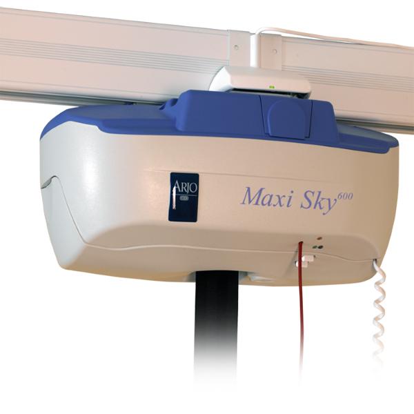 Maxi Sky 600 - Lève-personne fixe au plafond sur rail...