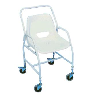 Chaise de douche à roulettes 812039 - Chaise de douche...