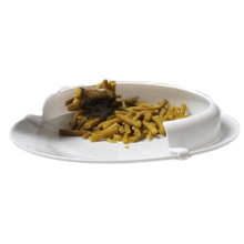Rebord d'assiette incurvé 813073 - Assiette à rebord...