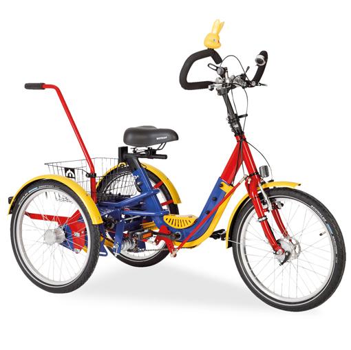 Claude - Tricycle à deux roues arrière propulse par les ...