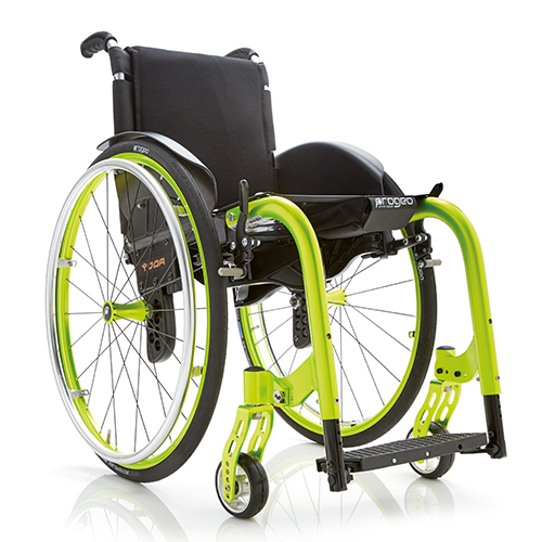 Yoga - Fauteuil roulant manuel léger à châssis pliant...
