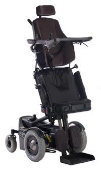 Fauteuil roulant electrique verticalisateur