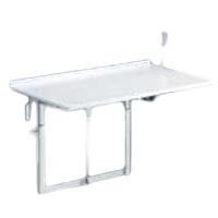 Table à langer rabattable R8722 - Table de douche à haut...