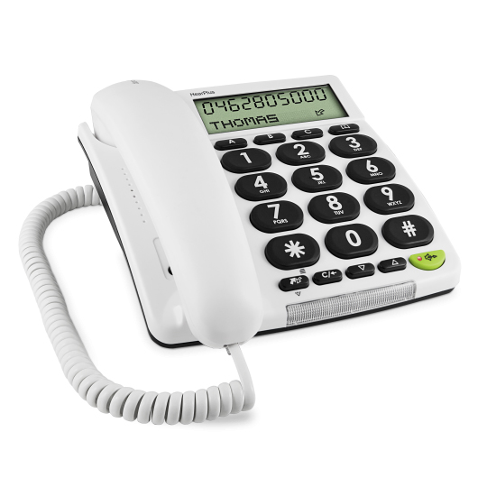 Hear plus 313 ci - Téléphone fixe à touches larges...