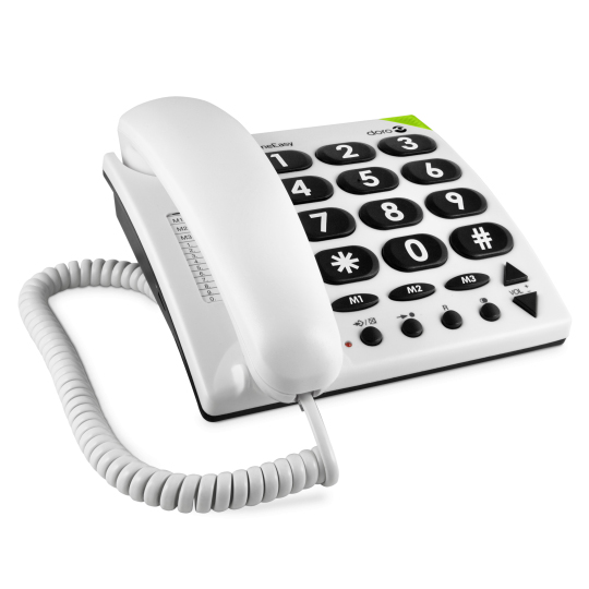 Phone easy 311C - Téléphone fixe à touches larges...