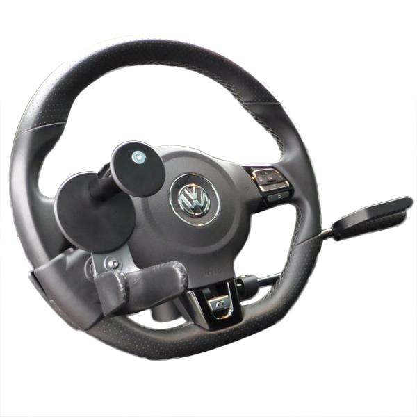 Boules et fourches - Fourche au volant de conduite...