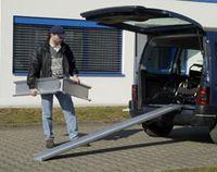 Rail de chargement ABS-F - Paire de rampes portables...