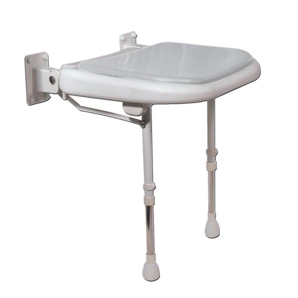 Banc de douche 04580P - Siège de douche mural à pieds...