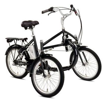 E-trike - Tricycle à deux roues arrière propulse par les...