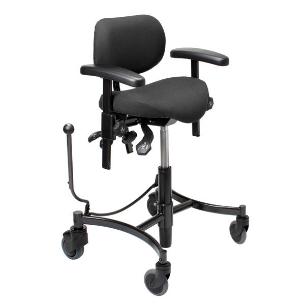Salsa - Chaise de bureau à hauteur variable par vérin à ...