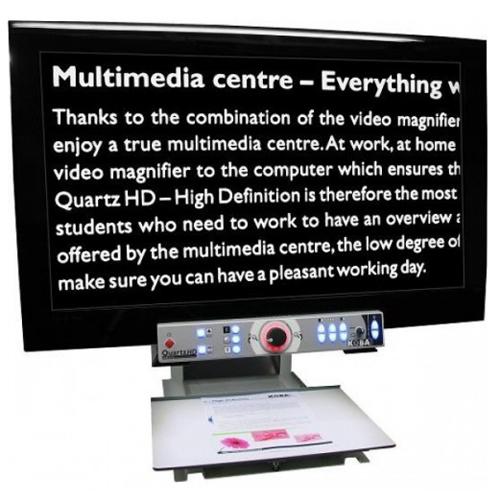 Quartz HD - Téléagrandisseur avec écran intégré...