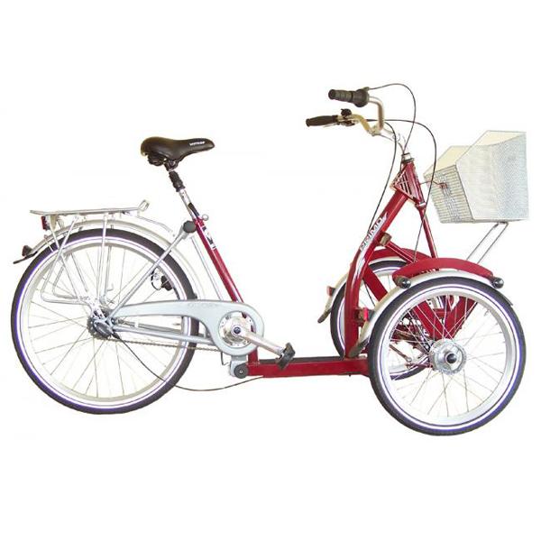 Triporteur - Tricycle à deux roues avant...