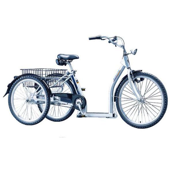 Robusto - Tricycle à deux roues arrière propulse par les...