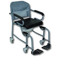 Nouméa 200 - Chaise percée à roulettes...