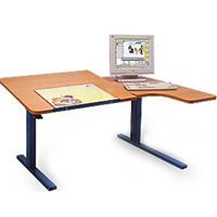 Bureaux - Table de travail à hauteur réglable...