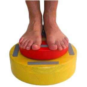 Plot de proprioception - Appareil d'exercice d'équilibre...