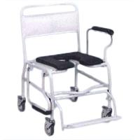 Fauteuil de douche XL - Chaise percée à roulettes...