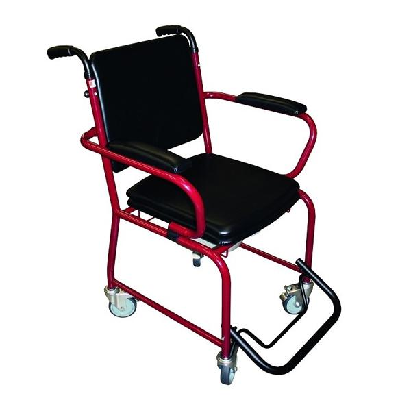 GR 50/52 - Chaise percée à roulettes...