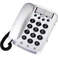 Dallas 100 - Téléphone fixe à touches larges...