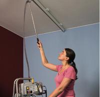 Moteur portable - Lève-personne fixe au plafond sur rail...