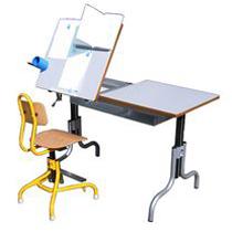 Table Athena - Table de travail avec plateau inclinable...