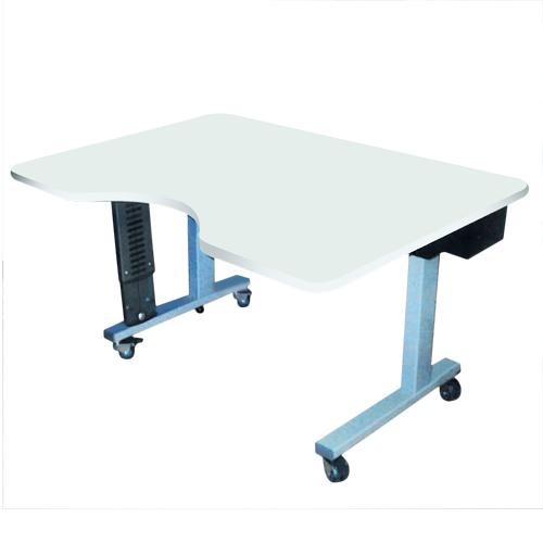 Zenia - Table de travail à hauteur réglable...
