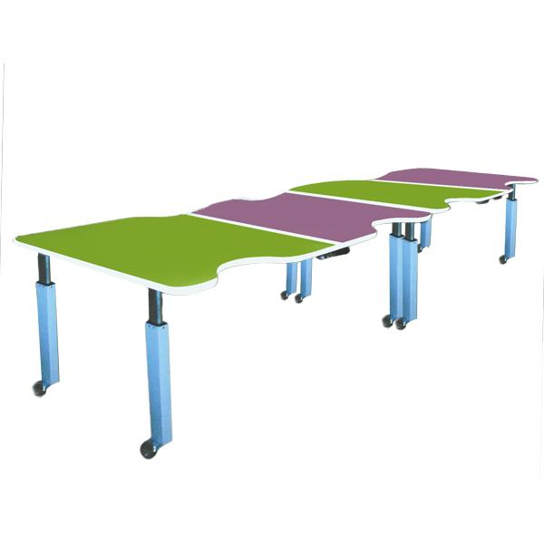 Kolya - Table de travail à hauteur réglable...