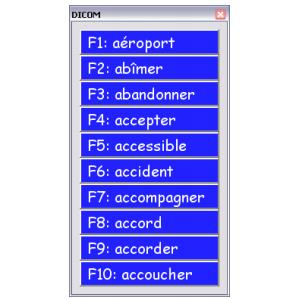 Dicom - Logiciel de traitement de texte...