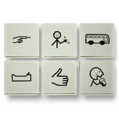Pictogrammes plastifiés - Communication par pictogrammes...