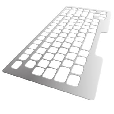 Guide doigt aluminium - Guide doigt pour clavier d'ordin...